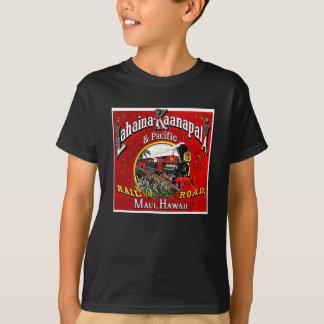 Le train de canne à sucre avec des locomotives de t-shirt