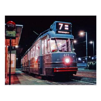 le tramway d'Amsterdam Carte Postale