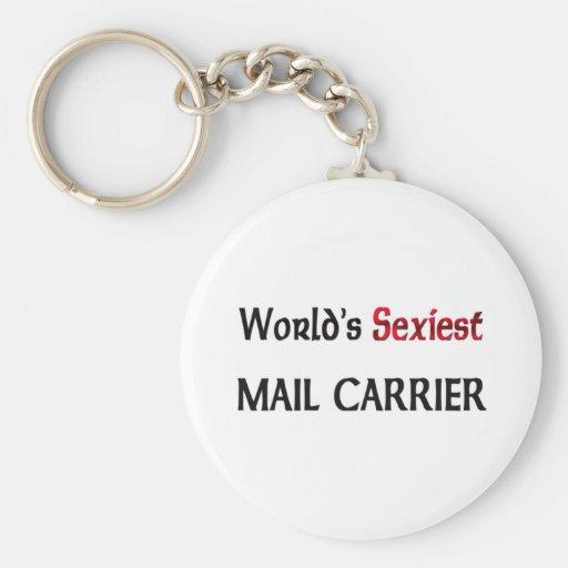 Le transporteur de courrier le plus sexy du monde porte-clés