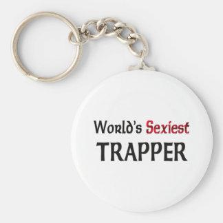 Le trappeur le plus sexy du monde porte-clé rond