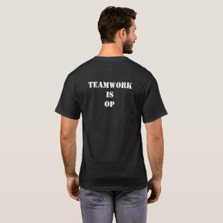 Le travail d'équipe de HHOD est OP T-shirt
