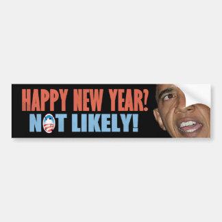 Le travail d'escroquerie de Barack Obama Autocollant De Voiture