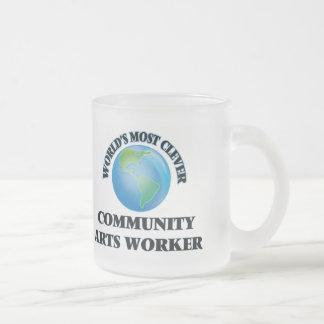 Le travailleur d'arts le plus intelligent de la tasses à café