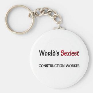 Le travailleur de la construction le plus sexy du porte-clefs