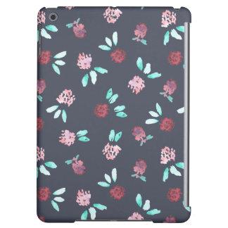 Le trèfle fleurit la caisse mate d'air d'iPad