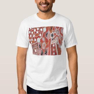 Le tribal débarque la terre t-shirt