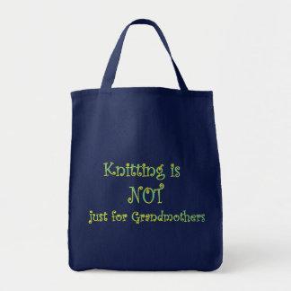 Le tricot n'est pas simplement pour le sac de