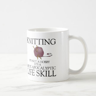 Le tricot n'est pas un passe-temps que c'est une mug