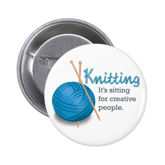 Le tricotage… de lui se repose pour les personnes  badges