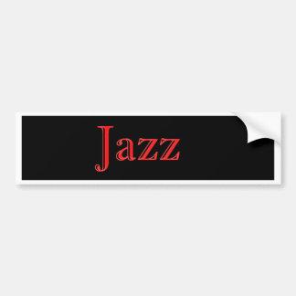 Le trio de jazz moderne autocollant pour voiture