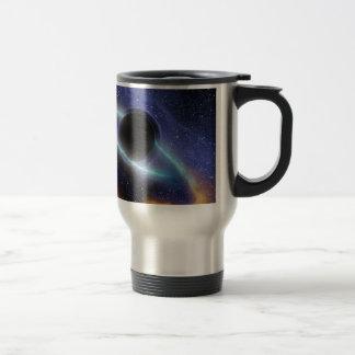 Le trou noir de NASAs saisit le casse-croûte Mug De Voyage En Acier Inoxydable