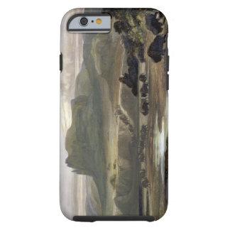 Le troupeau de bison sur le Missouri supérieur, Coque Tough iPhone 6