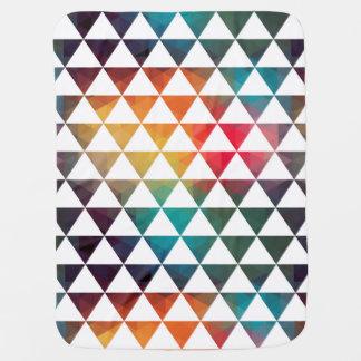 Le turc a inspiré le motif géométrique coloré couverture de bébé