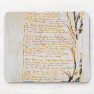 Le Tyger, des chansons de l'innocence Tapis De Souris