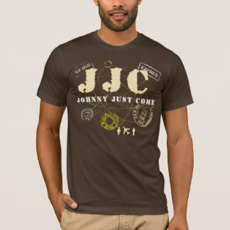 Le type viennent juste T-shirt