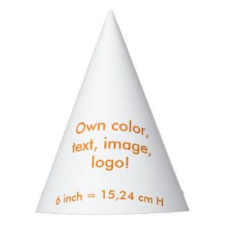 Le ~ uni blanc de casquette de partie possèdent la chapeaux de fètes