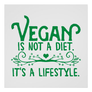 Le végétalien n'est pas un régime posters