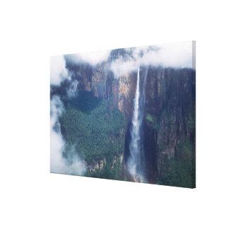Le Venezuela, les chutes de Salto Angel, parc nati Toiles
