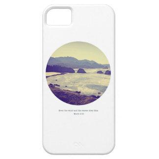 Le vent et les vagues l'obéissent cas de téléphone iPhone 5 case