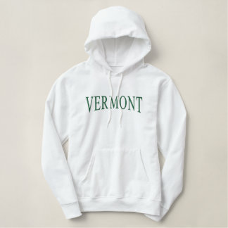Le Vermont a brodé le sweat - shirt à capuche