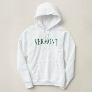 Le Vermont a brodé le sweat - shirt à capuche Sweat-shirt À Capuche