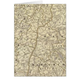 Le Vermont, New Hampshire Carte De Vœux