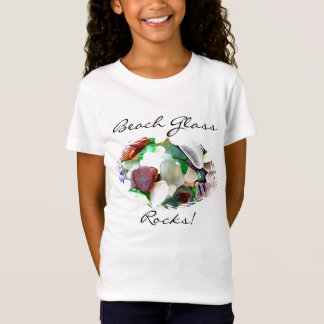 Le verre de plage bascule la chemise T-Shirt