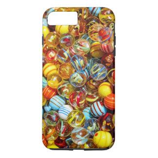 Le verre marbre la caisse de téléphone portable coque iPhone 7 plus