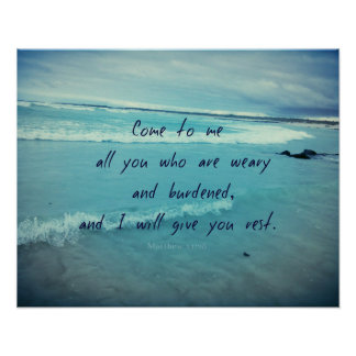 Le vers inspiré de bible de citation de Dieu Poster