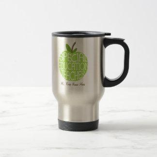 Le vert Apple de professeur d'éducation spéciale Mug De Voyage