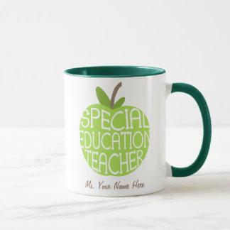 Le vert Apple de professeur d'éducation spéciale Tasses