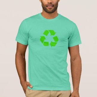 Le vert réutilisent le T-shirt