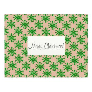 Le vert tient le premier rôle le Joyeux Noël ! Cartes Postales