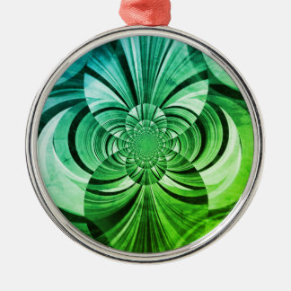 Le vert tourbillonne ornement
