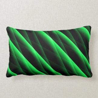 Le vert vert piqué barre le coussin lombaire