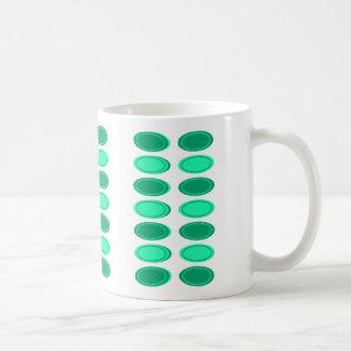 Le vert vont tasse