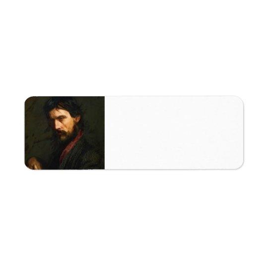 Le vétéran par Thomas Eakins Étiquette D'adresse Retour