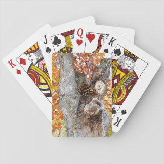 Le vieil arbre cartes à jouer