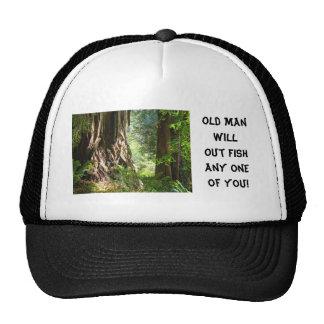 Le vieil homme pêchera des n'importe quels de vous casquette de camionneur