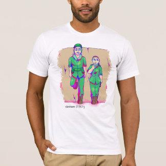 Le Vietnam Recolored [1967] a coulé le T-shirt