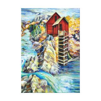 Le vieux cristal de moulin dans le Colorado Toiles