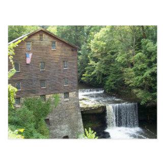 Le vieux moulin aux automnes de Lanterman Cartes Postales