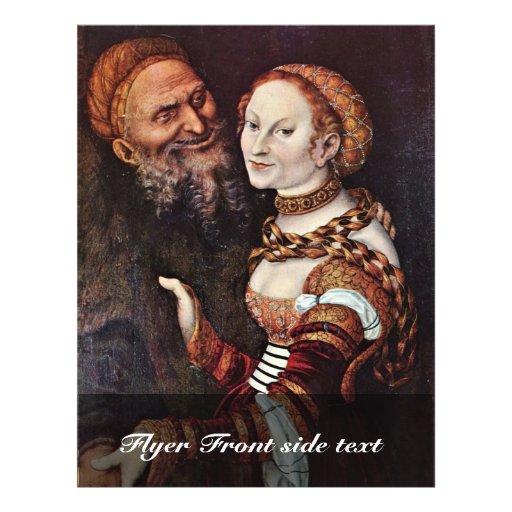 Le vieux passionné par Cranach D. Ä. Lucas (le mei Prospectus Personnalisés
