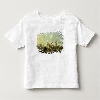 Le vieux port de Gênes T-shirt Pour Les Tous Petits
