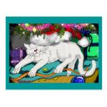 le vigile du chaton cartes postales