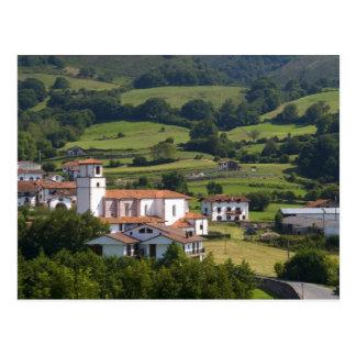 Le village d'Amaiur dans la vallée de Baztan de Cartes Postales