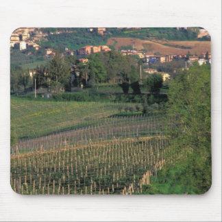 Le village de San Gimignano se repose dans le roul Tapis De Souris