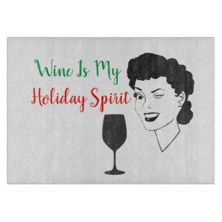 Le vin drôle est ma planche à découper d'esprit de