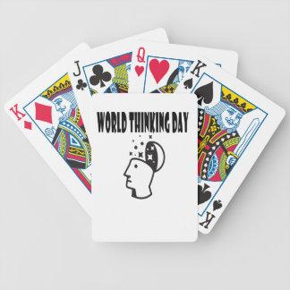 Le vingt-deuxième février - jour de pensée du jeu de poker