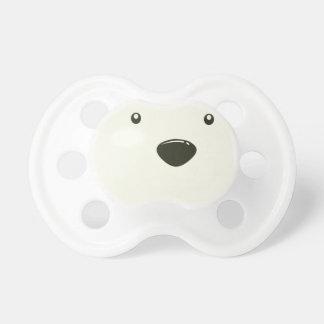 Le vingt-septième février - jour d'ours blanc tétine pour bébé
